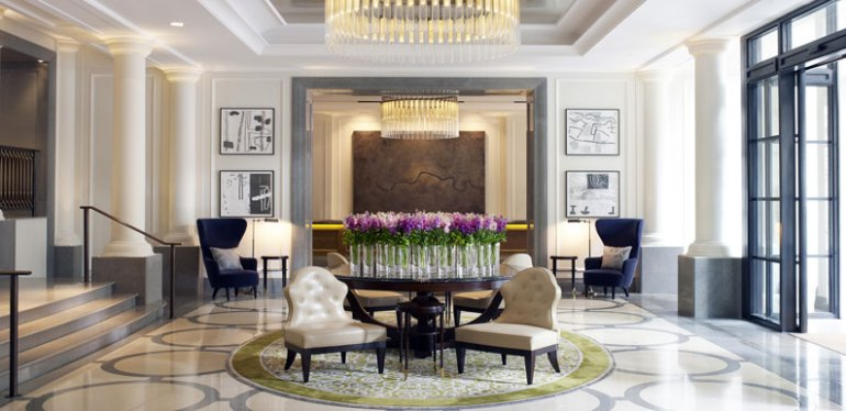 The Corinthia London Lobby