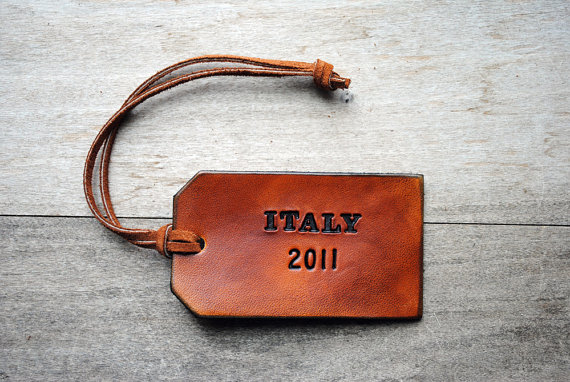 Customised Luggage Tag