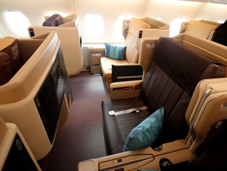 Singapore Airlines Business Class A380