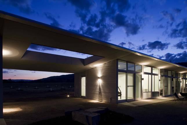 Yarck House at Night