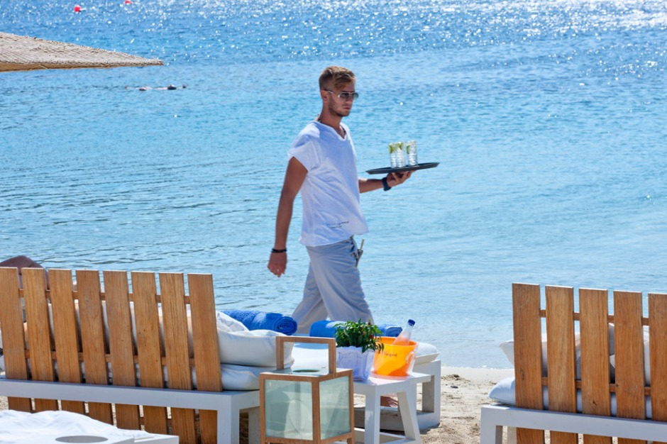 Mykonos Ammos Beach Club