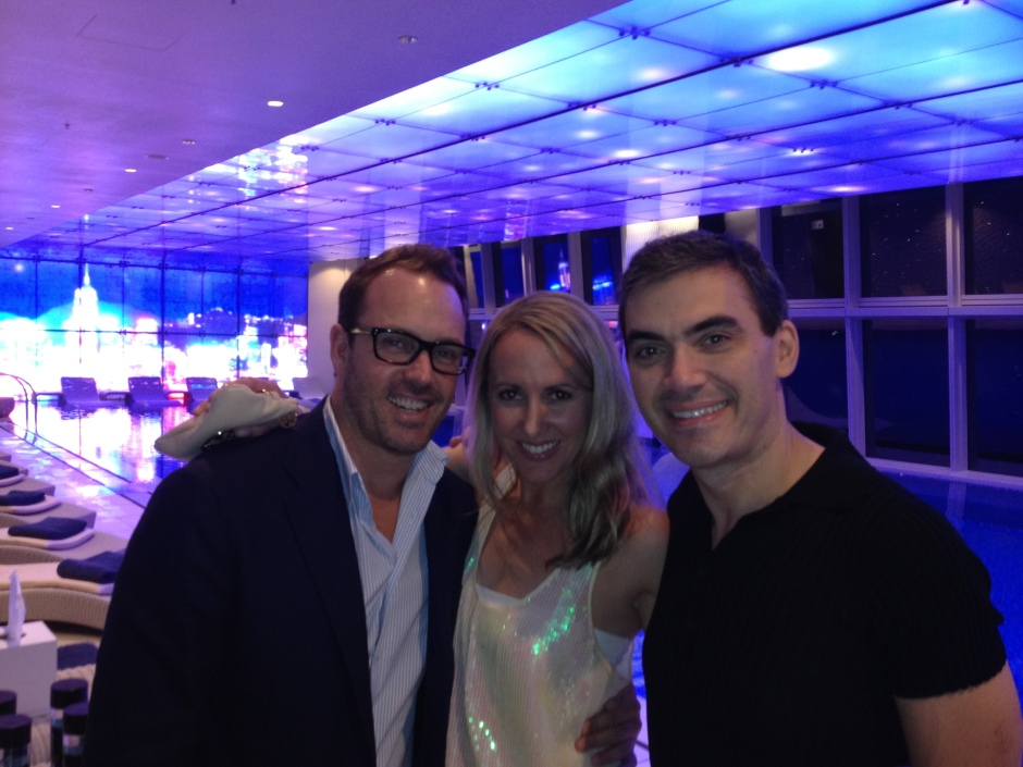 Brent , Chrissie & Frederico - Ritz Carlton Hong Kong