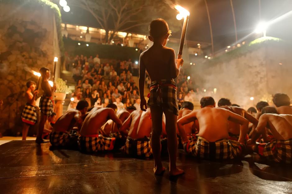 Kecak Dancers - Amankila