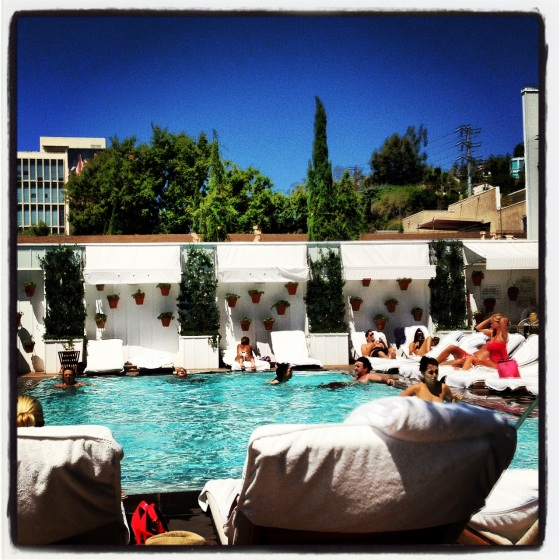 Poolside @ The Mondrian
