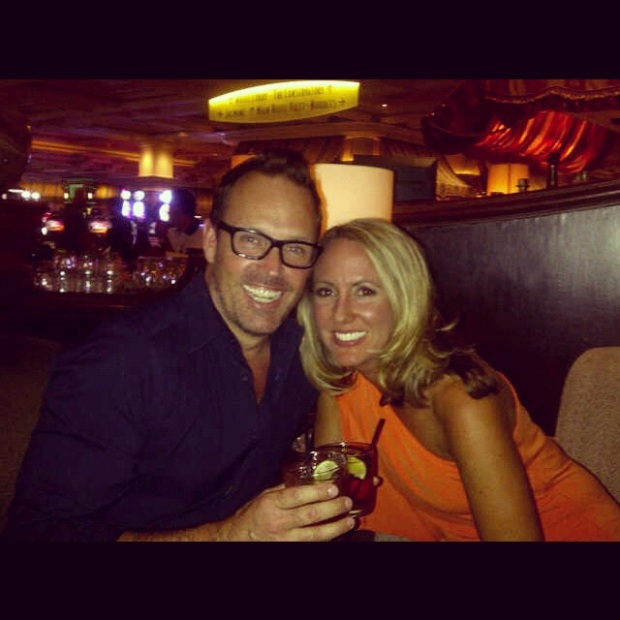 Brent & Chrissie - Bellagio Baccarat Bar