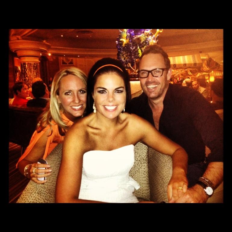 Chrissie, Carolyn & Brent - Bellagio Bacarat Bar