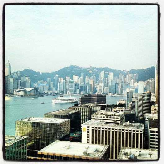 View from Hotel ICON Hong Kong
