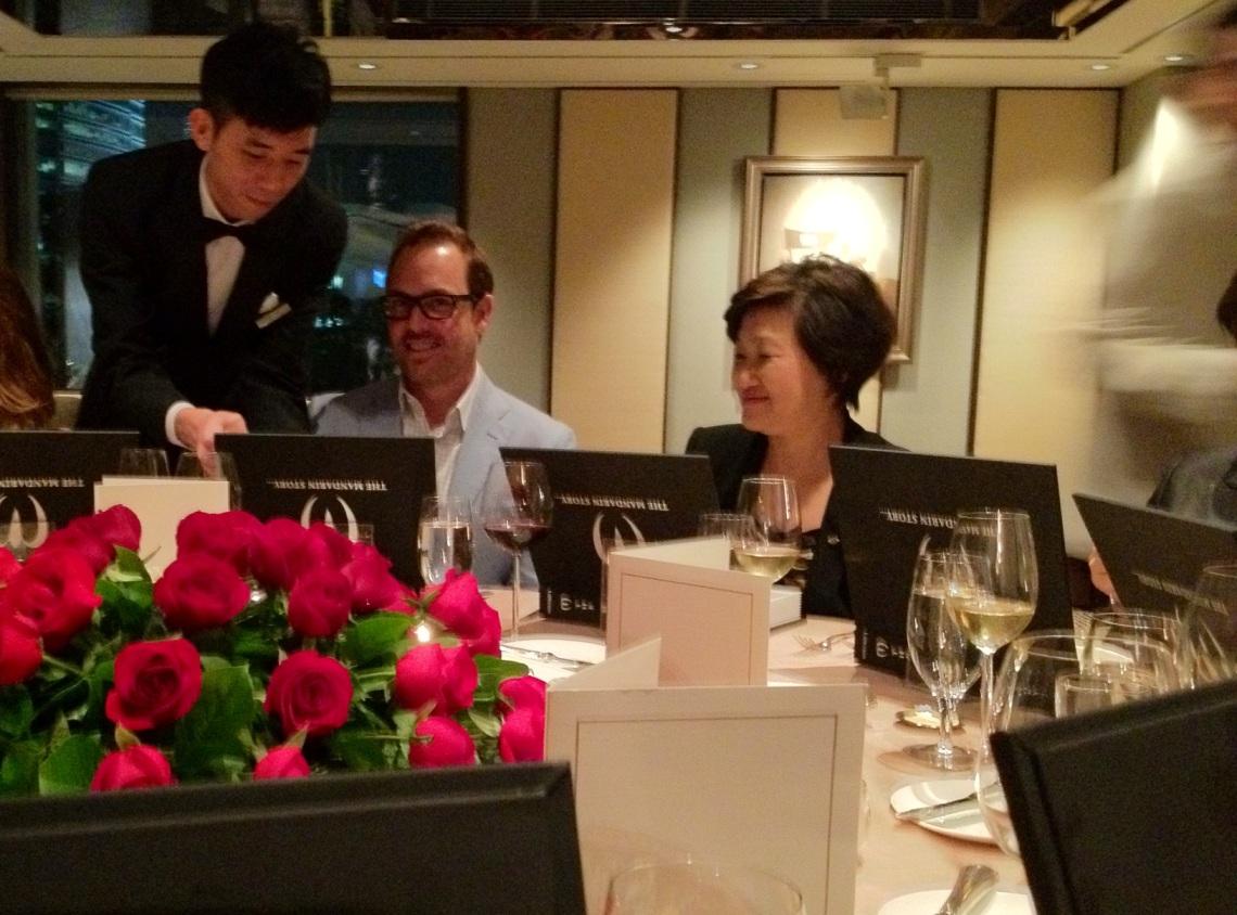 Legendary Mandarin Oriental Hong Kong service