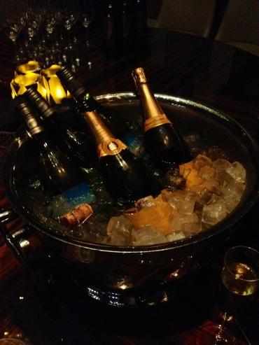 Champagne on arrival - Ritz Carlton HK