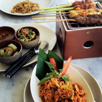 Lunch at The Warung Alila Villas Uluwatu