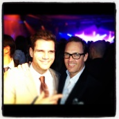 Andre Sustelo from ILTM and Brent at The Martinez
