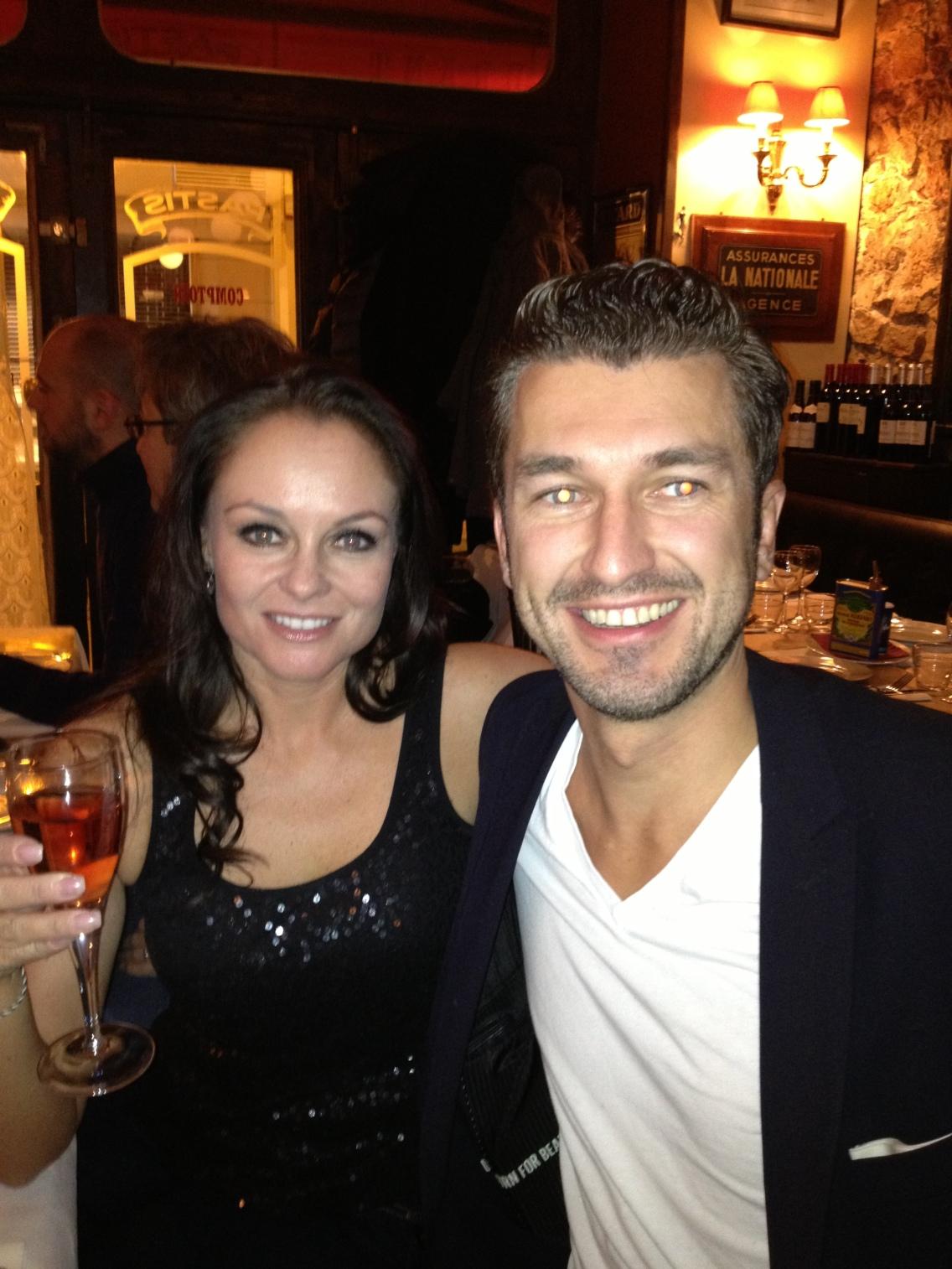 Anna Loeser & Matthias Kaesweber at Carolyn Turnbull's Birthday