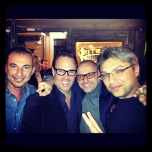 Brent with the team from JK Place Florence, Capri and Rome