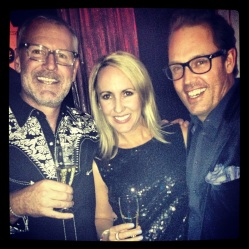 Stuart Campbell & Chrissie Lincoln from Aman Resorts with Brent