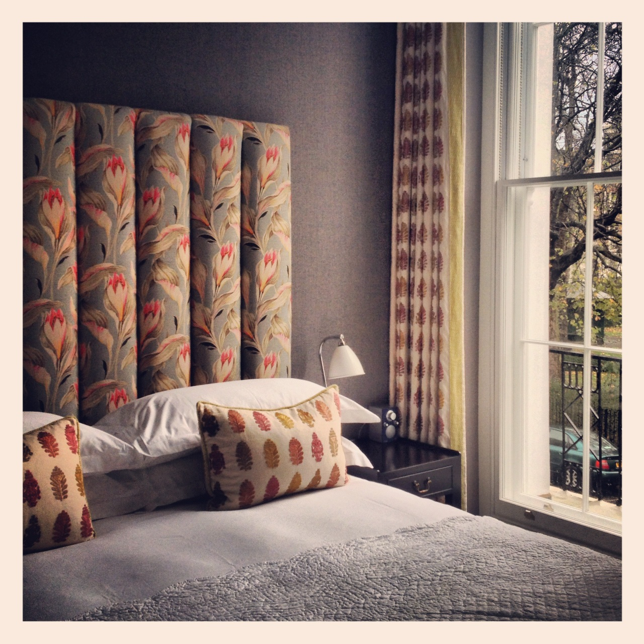 Dorset Square Hotel in London lived up to my (high!) Firmdale expectations, read how Kit Kemp re-invented this gem.