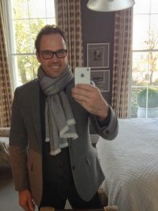 Dorset Square Hotel Selfie - Brent Wallace