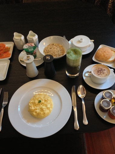 Breakfast feast - Bulgari Hotel London