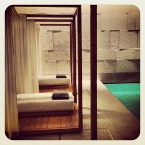 Pool at Bulgari Hotel London
