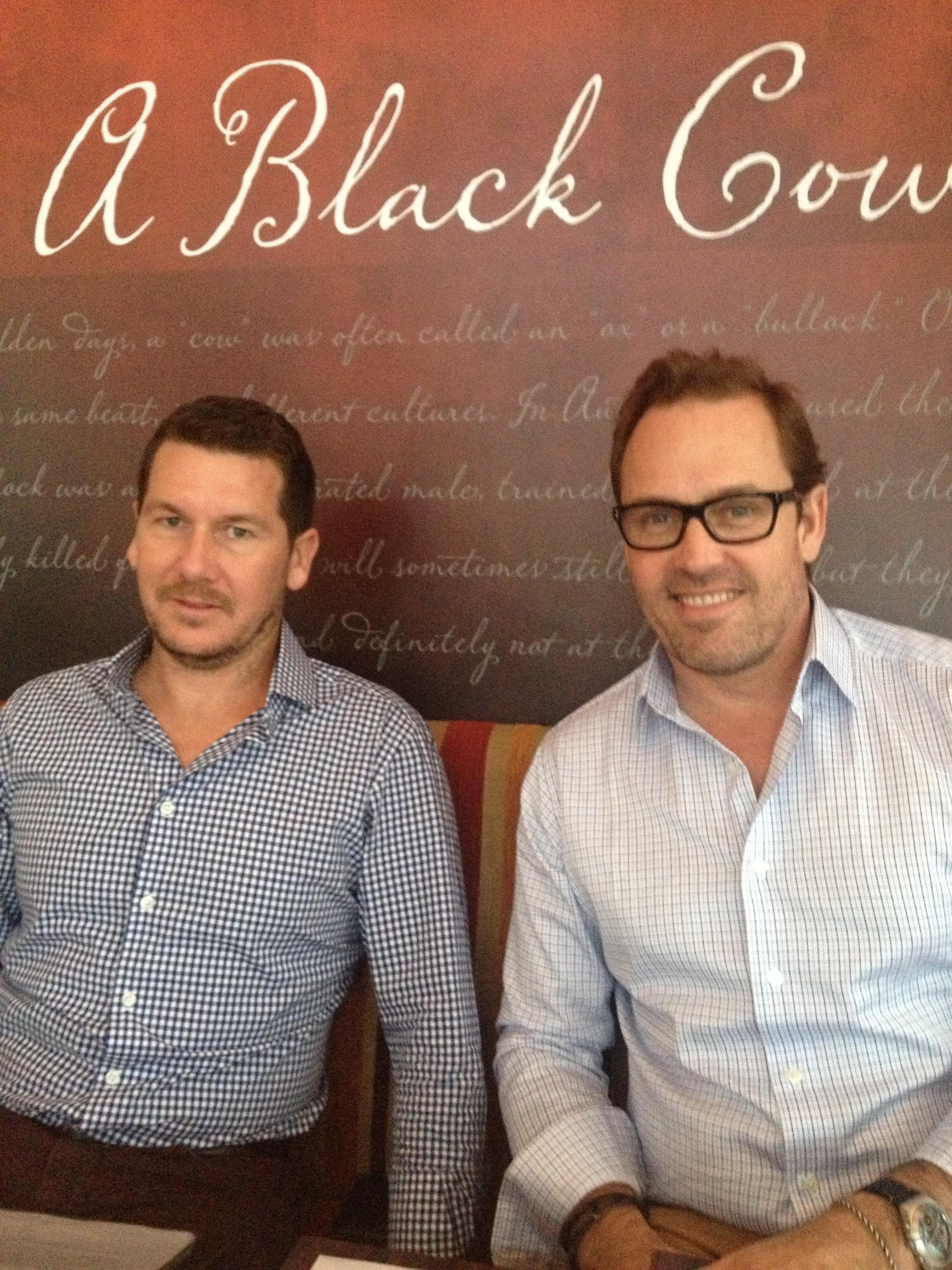 Dan & Brent - Balck Cow Bistro