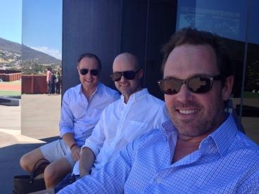 Craig, Stephen and me!