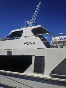 Ferry to MONA