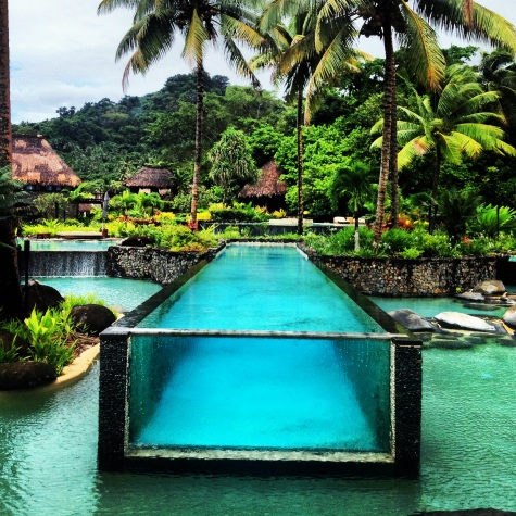 Iconic pool - Laucala Island