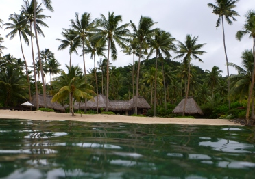 Villa Kalokalo as seen from the reef!