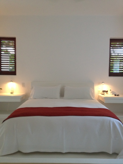 Serene and simple bedrooms at Esencia