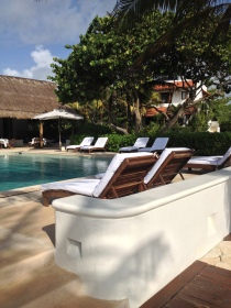 Poolside at Esencia