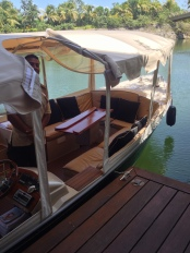 Sense of arrival is heightened as you approach your suite by boat!