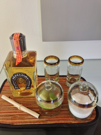Complimentary Tequila tasting in all Villas & Suites