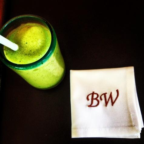 Personalised drinks on arrival! Rosewood Mayakoba