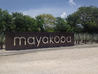 Entrance to Mayakoba Estate