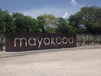 Entrance to Mayakoba Estate