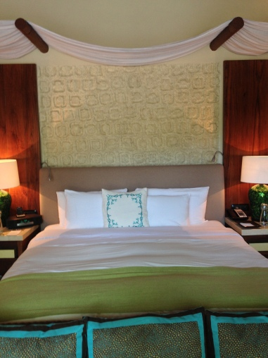 Dreamy beds at Viceroy Riviera Maya