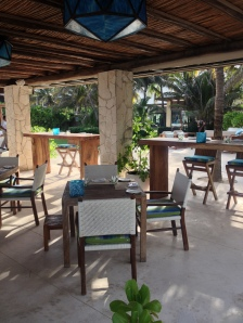 Beachfront Restaurant Viceroy Riviera Maya