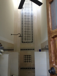 Bathroom detail Casa Lecanda
