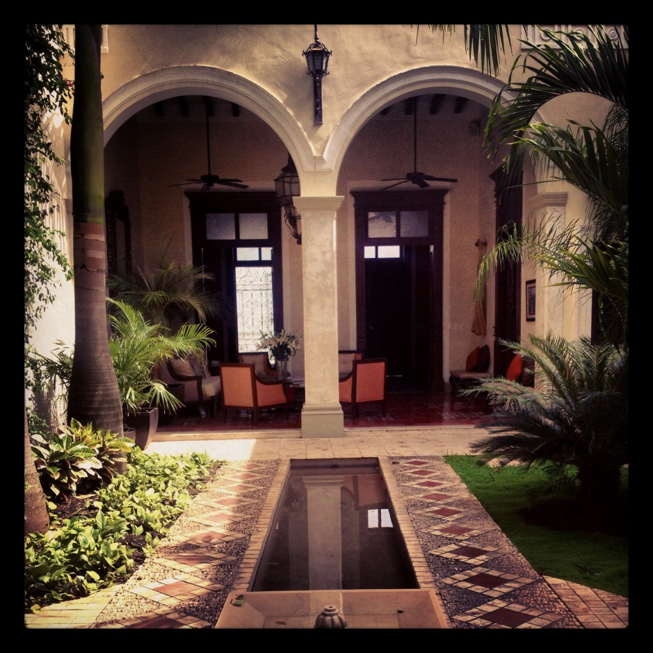 Courtyard Casa Lecanda
