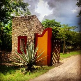 Entrance to Hacienda San Jose