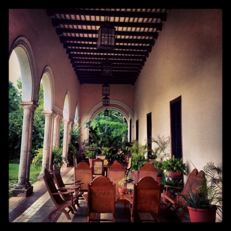 Terrace- Hacienda Temozon