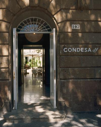 Condesa df Entrance