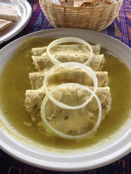 Chicken Enchilada Verde