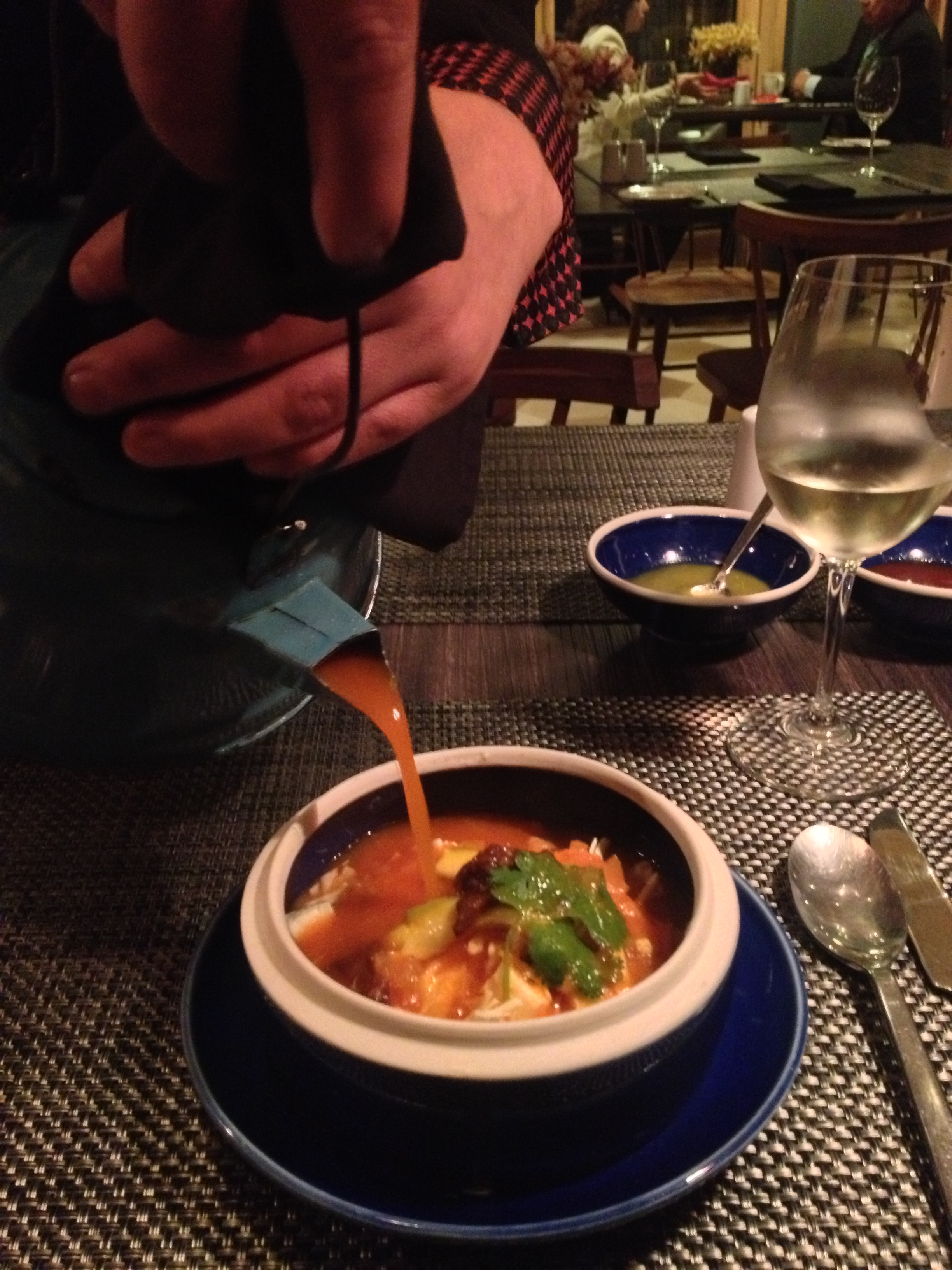 Guest Food Blogger Nettie Z tells all about the Chicken Tortilla Soup - Hotel Bo Style!
