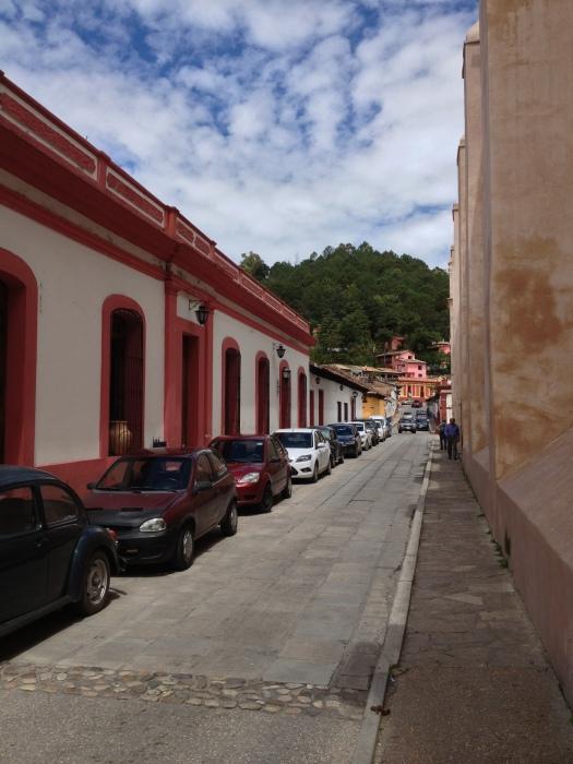 The streets of San Christobal de las Casas