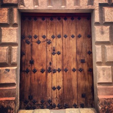 Door detail San Christobal de las Casas