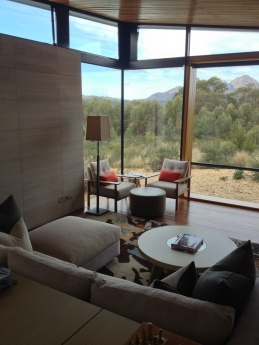 Saffire's cool interiors