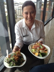 Smiling staff everywhere at Saffire!