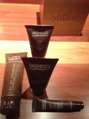 New cult products purchased at Spa Saffire