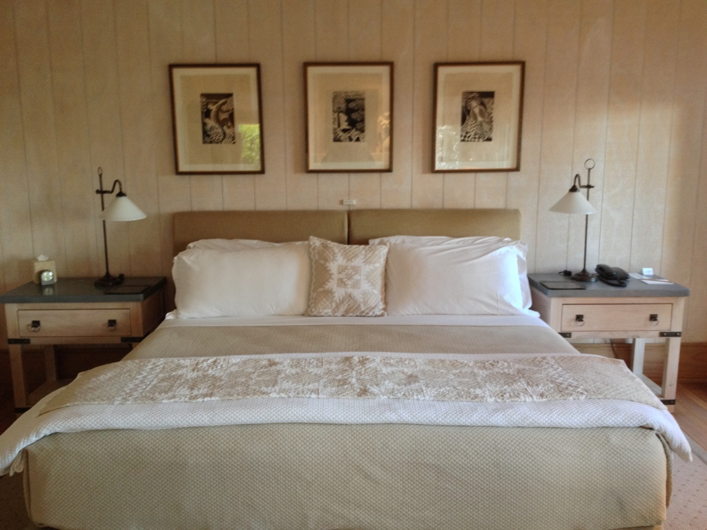 Bedroom at Kauri Cliffs