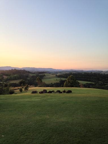 Sunset from Samira Lookout - Gaia Retreat & Spa